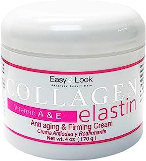 Sponsored Ad - Collagen Elastin Cream Vitamins A & E Anti aging and Firming Cream 4oz