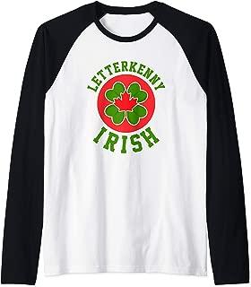 Letterkenny Irish   Shoresy Raglan Baseball Tee