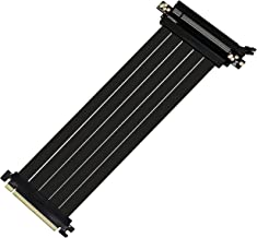 EZDIY-FAB Nuevo PCI Express PCIe3.0 16x Flexible Cable Card Extension Port Adapter,High Speed Riser Card (30cm 180 Grados)-Upgrade Version