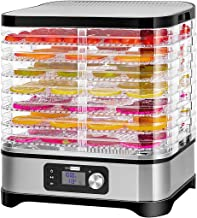 VIVOHOME Electric 400W 8 Trays Food Dehydrator Machine with Digital Timer and Temperature Control...