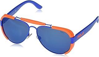 Ralph Lauren - Polo Ralph Lauren Gafas de sol aviador Ph3129 para hombre