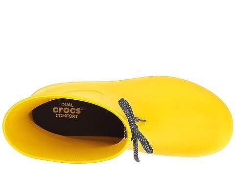Freesail cher Pluie Crocos pas Shorty Botte Recommander Blacklemonnavy OwBqtn8nP