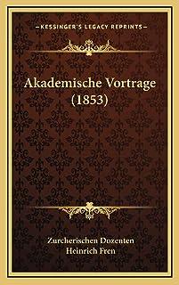 Akademische Vortrage (1853)