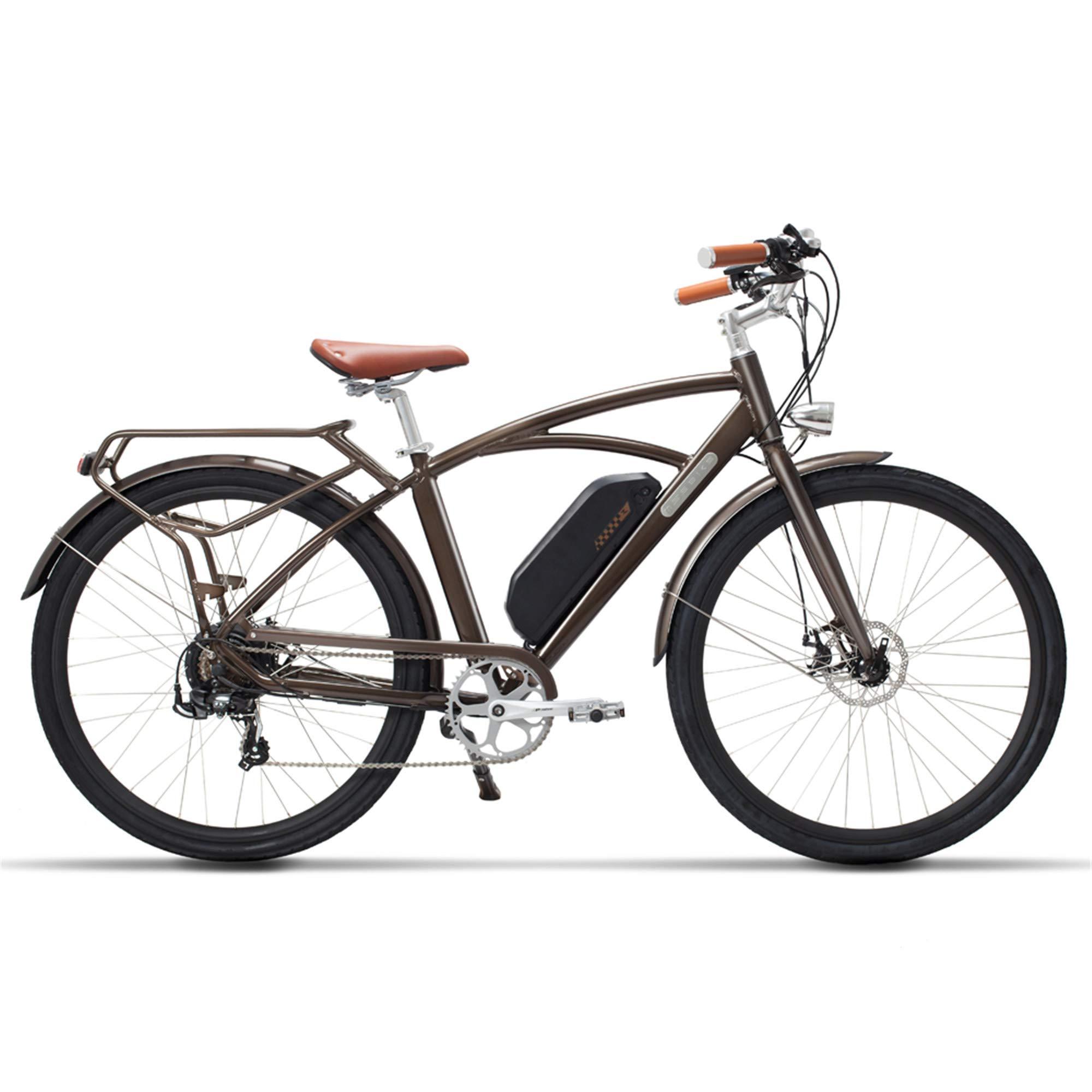 MSEBIKE Comet 700C Bicicleta Eléctrica 48 V 13Ah 400 W Bicicleta ...