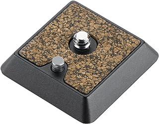 Cullmann Revomax RX472 - Placa de cámara de Aluminio para Acoplamiento de liberación rápida (Anchura 4.2 cm, Altura 1 cm, Profundidad 4.2 cm)