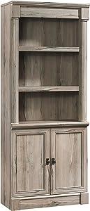 Sauder 424813 Palladia Library W/Doors, Split Oak Finish