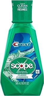 Crest Scope Classic Mouthwash Original Formula, 500 ml - Pack of 1