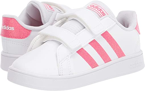 Footwear White/Real Pink/Footwear White 1