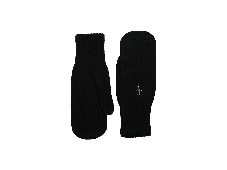 Smartwool Knit Mitt (Black) Over-Mits Gloves