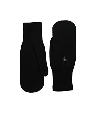 Smartwool Knit Mitt (Black) Over-Mits Gloves