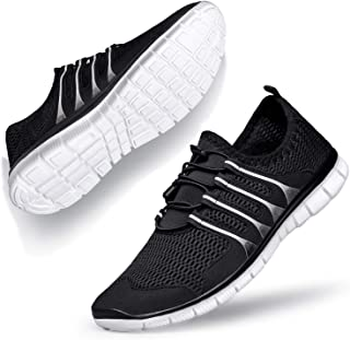 Womens Walking Shoes - Slip on Sneakers Work Athletic Casual Shoes Mesh Comfortable