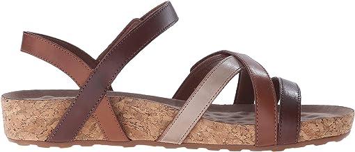 Brown Tonalu Multi/Cork Wrap