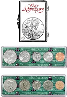 1994-2019 - 25th Anniversary Coin Gift Package American Silver Eagle Uncirculated
