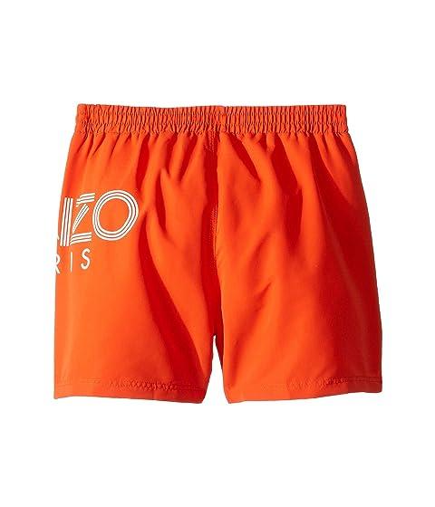 7b8f6821c6b0 Kenzo Kids Logo Swim Shorts (Big Kids) at Luxury.Zappos.com