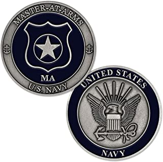 U.S. Navy Master at Arms (MA) Challenge Coin