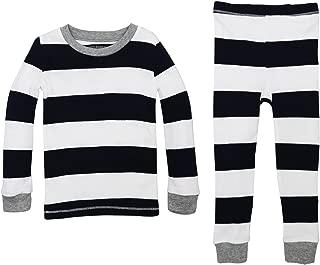 Baby Pajamas, Tee and Pant 2-Piece PJ Set, 100% Organic...