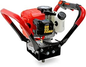 XtremepowerUS V-Type 55CC 2 Stroke Gas Post Hole Digger One Man Auger EPA Machine Plant..