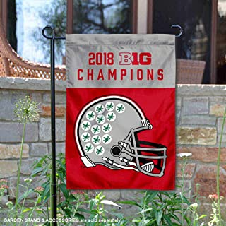 Ohio State Buckeyes 2018 Football Conference Champions Garden Flag