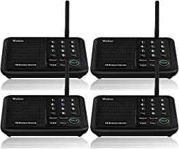 Wuloo Intercoms Wireless for Home 5280 Feet Range 10 Channel 3 Code, Wireless Home..