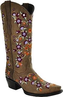 Floral Fantasy Cowgirl Fashion Boots M50031
