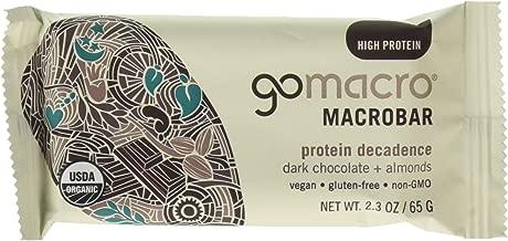 GoMacro Macrobars - Dark Chocolate + Almonds 12 bars