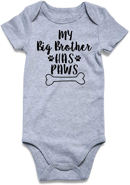 Goodstoworld Baby Boy Girl Rompers Onesies Long Short Sleeve Toddler Bodysuit Infant Cotton Jumpsuit 0-12 Months