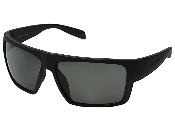 Native Eyewear Eldo (Asphalt/Dark Gray/Asphalt/Gray) Sport Sunglasses