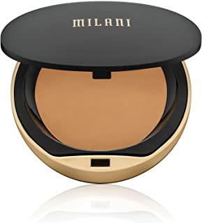 Milani Conceal + Perfect Shine-Proof Powder - Medium (0.42 Ounce) Vegan, Cruelty-Free Oil-Absorbing Face Powder that Mattifies Skin and Tightens Pores