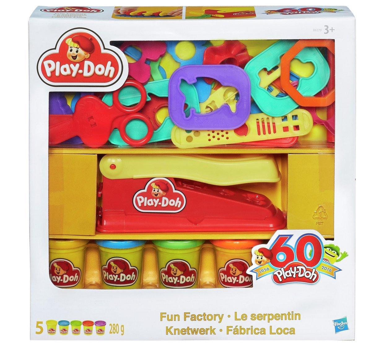 Play-Doh Fun Factory Retro Pack, Embalaje Exclusivo de Estilo ...