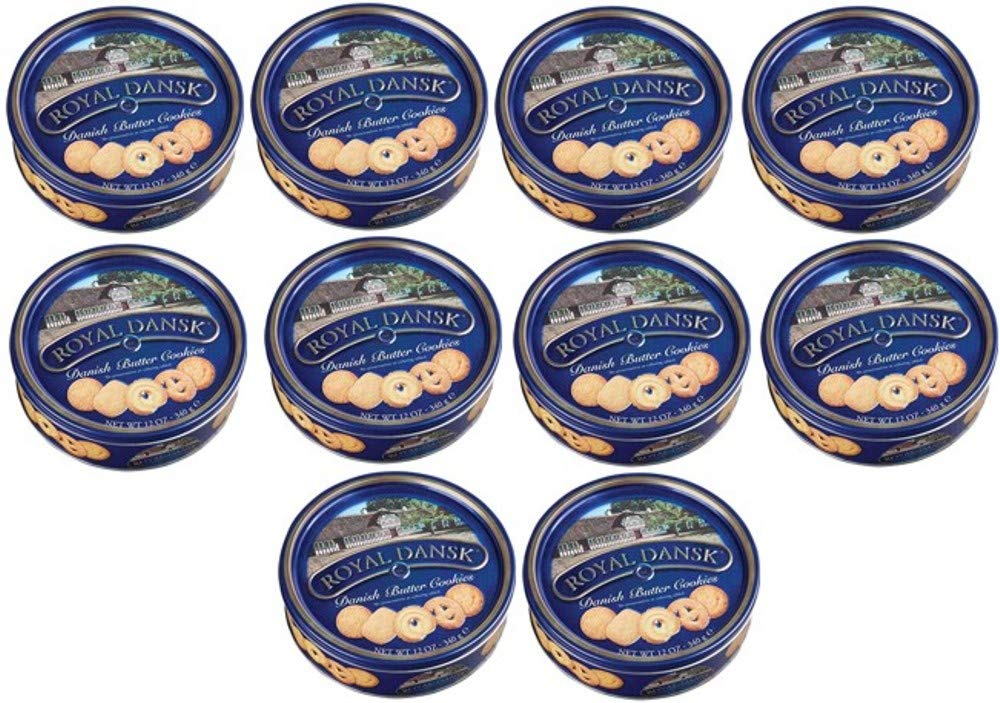 Royal Dansk 81997 Danish Butter Ranking TOP9 Cookies Blue 10 Pack Flat Max 86% OFF of