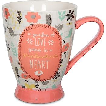 Pavilion Gift Company 74034 Grandmother Ceramic Mug, 16 oz, Multicolored