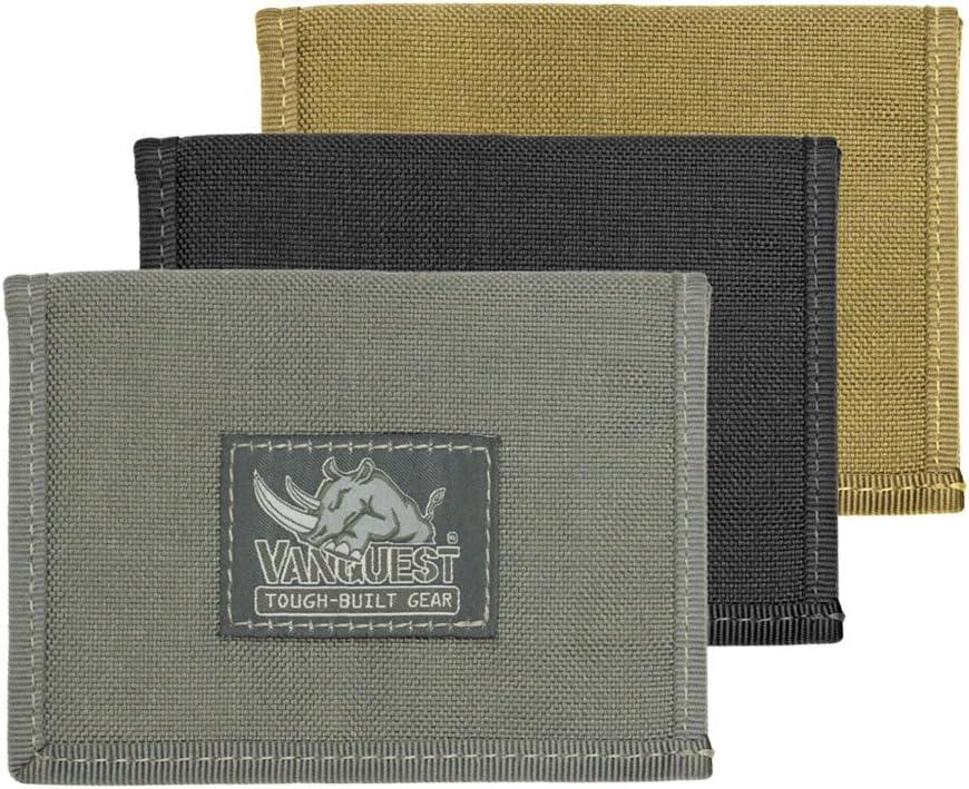 VANQUEST CACHE (Gen-3) RFID-Blocking Wallet (Wolf Gray)