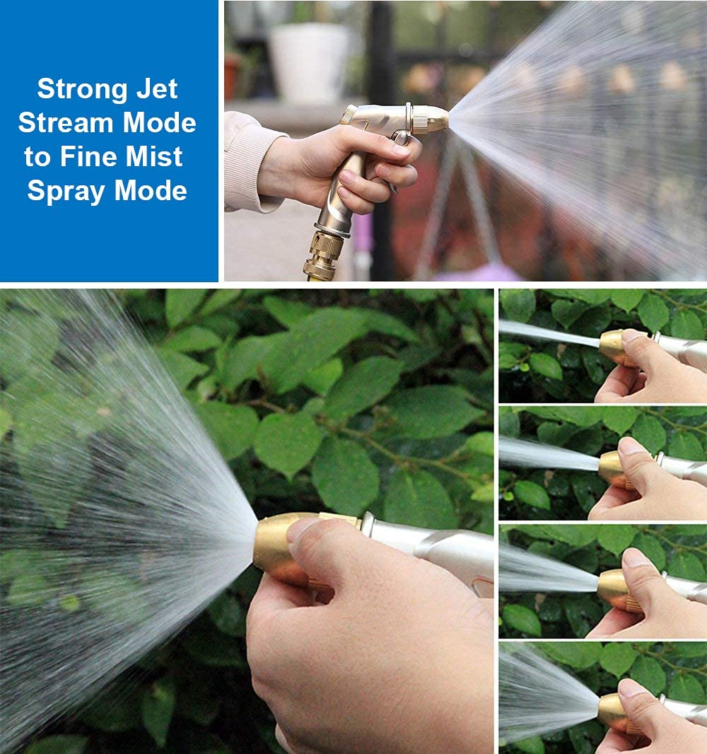 Four Watering Patterns: Compared to other high pressure nozzles