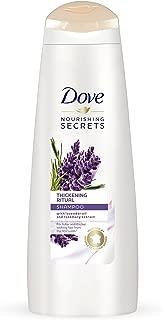 DOVE HAIR Nourishing Rituals Thickening Ritual Shampoo, 12 Ounce