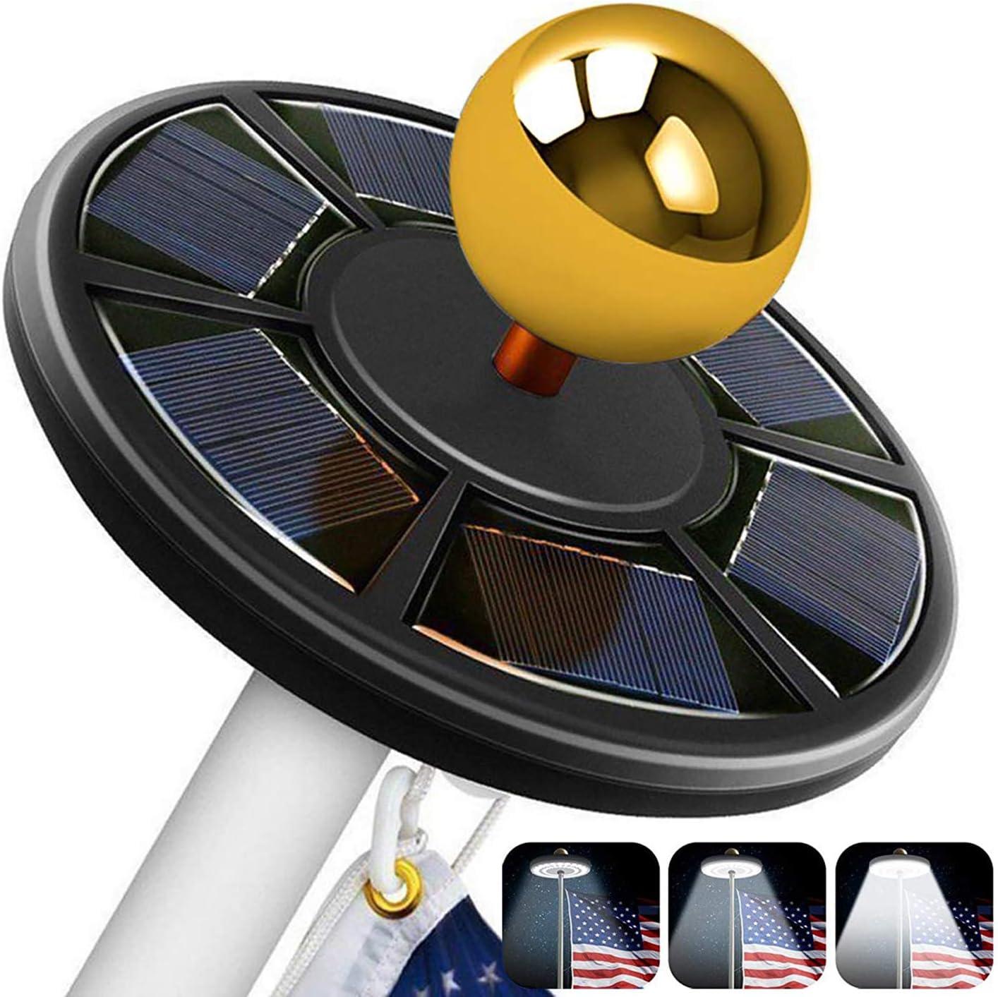 Comboss Solar Flag Pole Light 42 O LED Flagpole Auto Max 77% OFF Max 48% OFF