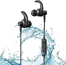 Bluetooth Headphones,Wireless Sport Earphones Bluetooth 5.0, IPX6 Waterproof Sports Earphones Gym Running, HD Stereo Headset w/Mic, 6 Hours Battery Noise Cancelling Bluetooth Earbuds