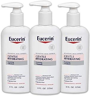 Eucerin 溫和保濕潔面乳 8液量盎司(237ml)(3個裝)