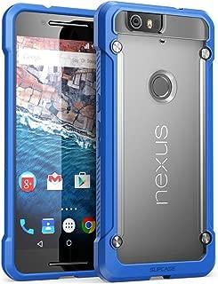 Nexus 6P Case, SUPCASE Google Nexus 6P Case Cover (2015 Release) Unicorn Beetle Series PremiumSlim Hybrid Protective Case/Bumper (Frost/Blue)