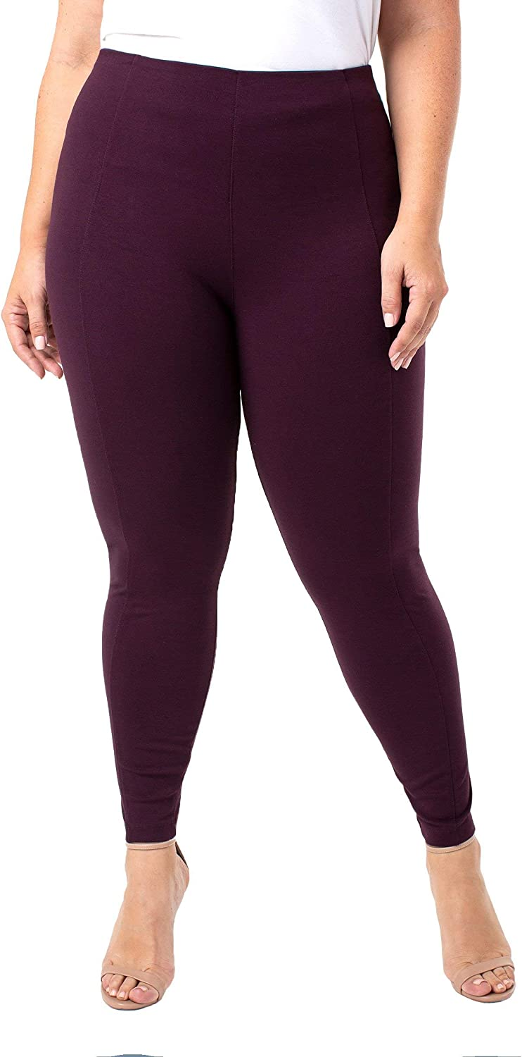 Reese High Rise Ankle Legging Super Stretch & Comfortable Ponte