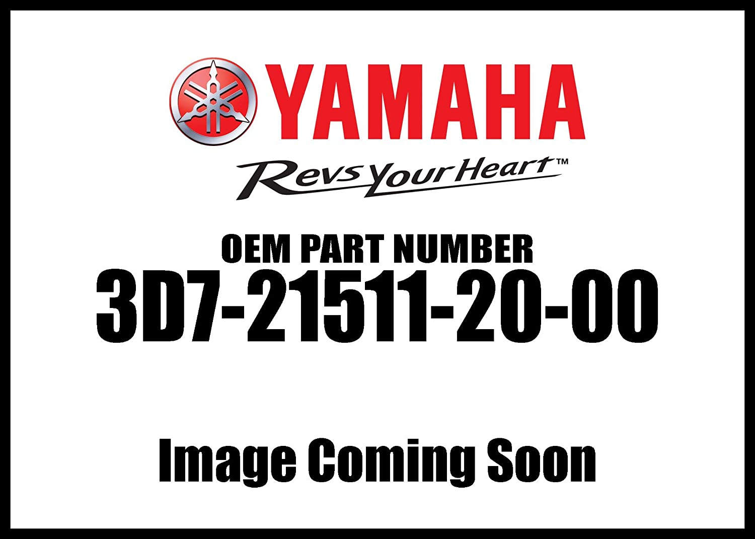 Yamaha 3D7215112000 Fender Limited time for free shipping Front New product