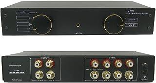 TC-7240 4-Way RCA / Phono Line Amp Router Audio Switcher Selector Splitter