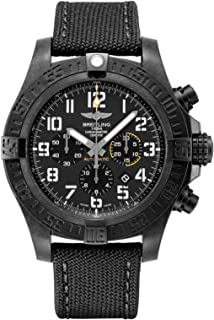 Breitling - Avenger Hurricane XB0170E4/BF29-100W - Reloj para hombre (50 mm, correa de lona antracita)