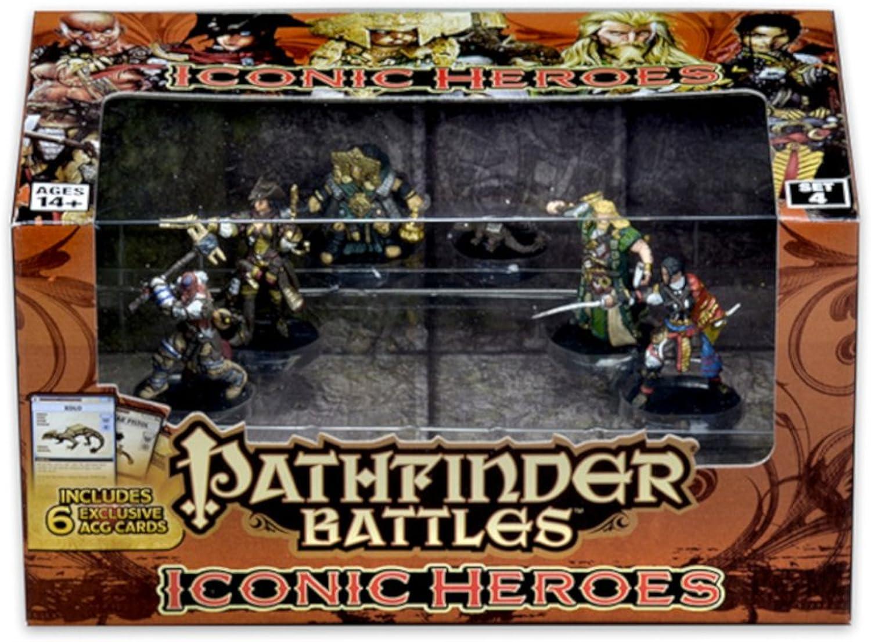 Pathfinder Battles  Iconic Heroes Set 4