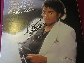 Quincy Jones Autographed Signed Memorabilia Michael Jackson Thriller Album Cover JSA Authenticated