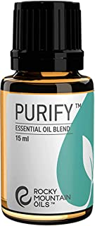 Rocky Mountain Oils Purify Essential Oil Blend - 100% Pure and Natural Essential Oils for Diffuser, Topical, and Home - Na...
