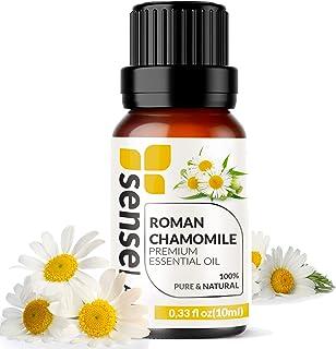 Roman Chamomile Essential Oil - 100% Pure Extract Roman Chamomile Oil Therapeutic Grade ( 0.33 Fl Oz / 10 ml)