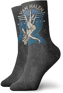 Van Halen Band Crew Socks Athletic Ankle Dress Sock For Men Women