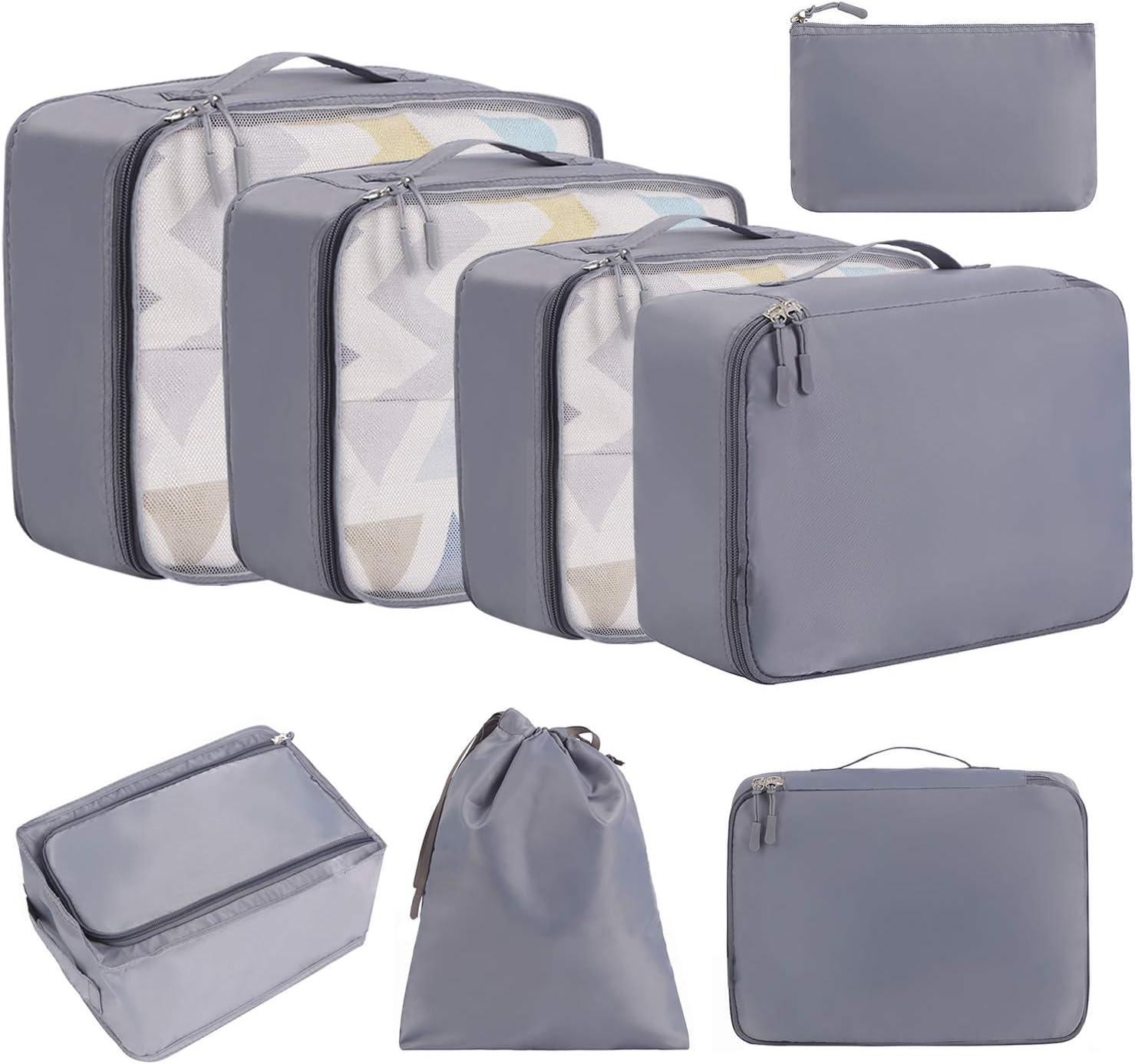Amazon Eono cubi da imballaggio organizer valigie 8 pezzi