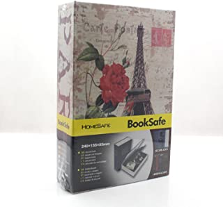 Riipoo(TM) Big Size Colours Dictionary Diversion Hidden Book Safe with Strong Metal Case Inside and Key Lock (Eiffel Tower,Size:24015555 MM)