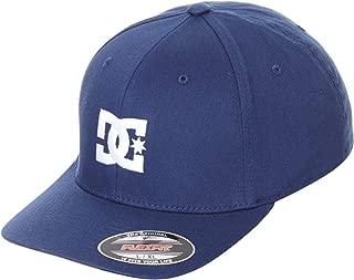 قبعة رجالية DC Clothing Star 2 من القبعة السوداء مقاس 2، X-Large